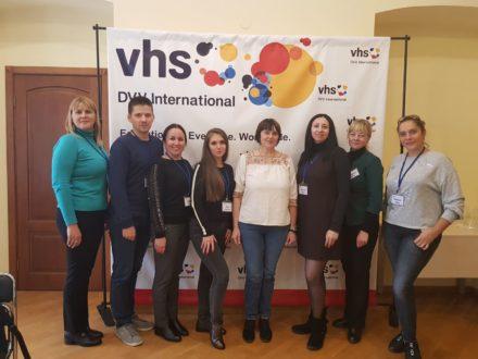 У Києві пройшов «Тренінг з основ файндрайзингу» для регіональних Центрів освіти дорослих
