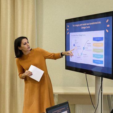 Тренінг з міжкультурних комунікацій та лідерства. Training in intercultural communications and leadership